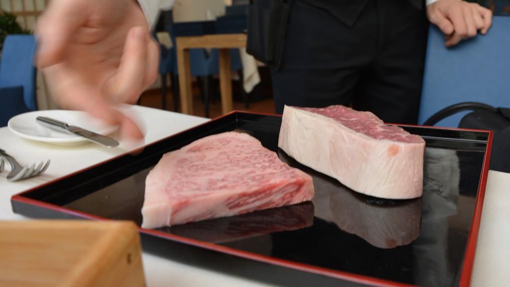 Wagyū aus Japan und Roastbeef aus Neuseeland